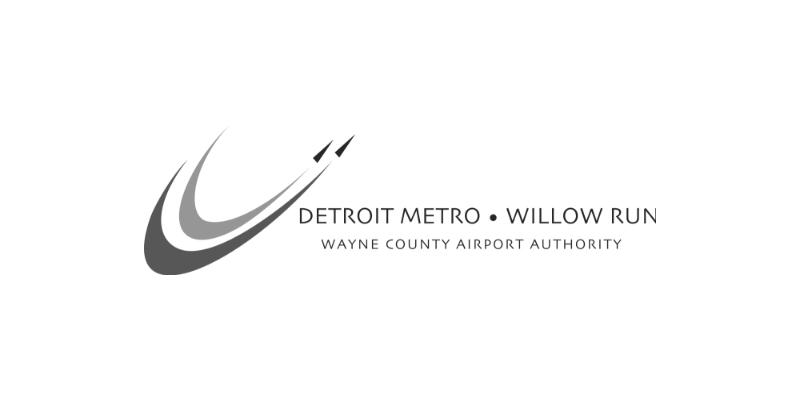 Detroit Metro Willow Run Logo